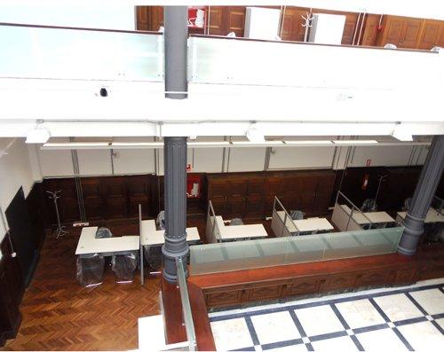 Vista interior de la nueva sede de Defensa de la Competencia